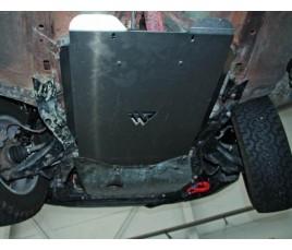 Protector caja cambios Subaru Forester
