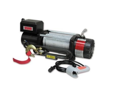 Cabrestante eléctrico BULLFACE 9500 libra cable de acero