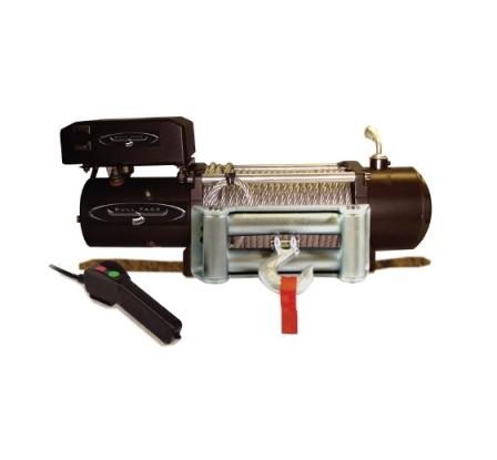 Cabrestante eléctrico BULLFACE 12000 libras CON CABLE SINTÉTICO