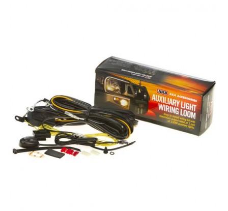 Kit cableado para 2 focos Intensity redondos. Instalación: 1 línea de 2 focos, un solo interruptor.