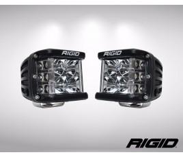 """JUEGO FAROS LED DUALLY D2 SERIES 3X3""""-6 LED (2600 Lumens) 12/24V - DRIVING"""