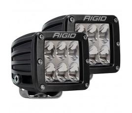 JUEGO FAROS LED DUALLY - 6 LED/Doble intensidad - 12/24V - NO CEE- DRIVING
