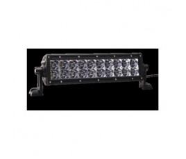 """BARRA E-SERIES - 2 FILAS de LED 10"""" (25cm) - 20 LED (3950 Lumens)- 12/24V -COMBO (HOM. CEE)"""