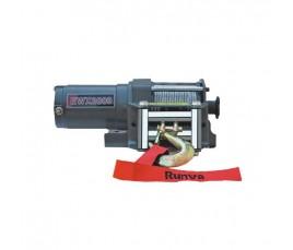 Winch eléctrico Portatil RUNVA 2000lbs (900kg), 12V - solo recogida