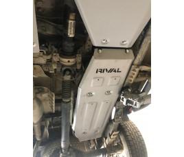 Protecor de depósito de combustible (duraluminio)TOYOTA HI-LUX VIGO