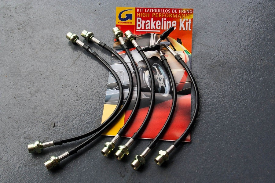 Kit de latiguillos metálicos Goodridge Kdj120/125